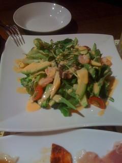 海老とアボカドの12品目サラダ