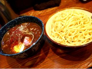 豚バラカレーつけ麺