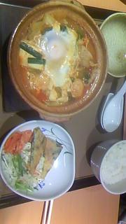 チゲ鍋定食