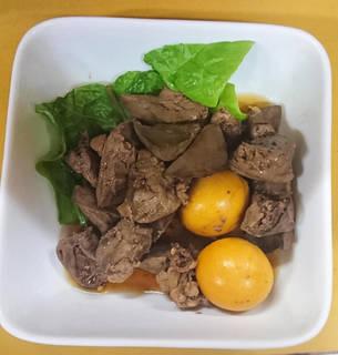 鶏肝とキンカンの甘露煮