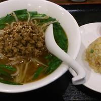 台湾ラーメン+半チャーハン