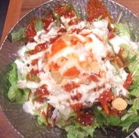 温泉玉子の韓国風シーザーサラダ