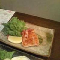 鶏肉の岩塩焼き