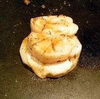 ホタテのレモンバター