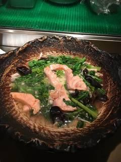 鮭のチーズ焼き
