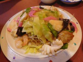 特製皿うどん 細麺
