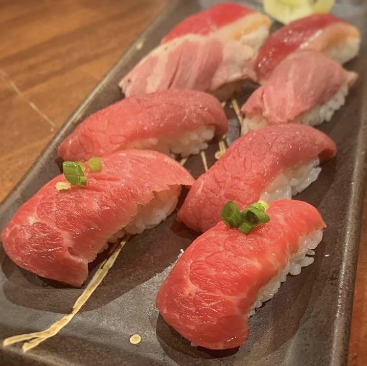 肉寿司 肉料理 長崎市人気居酒屋 #長崎市グルメ