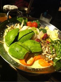 アボガド鍋
