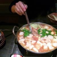 かほりや特製国産和牛の醤油もつ鍋