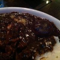 牛肉の赤ワイン煮カレー
