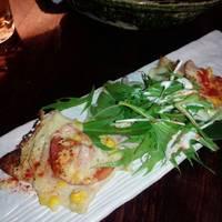 モチモチ生麩の和風ピザ
