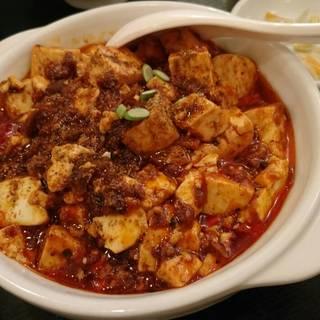 麻辣王豆腐ランチセット