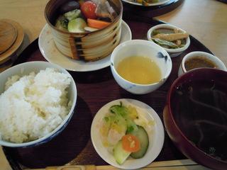 温野菜定食