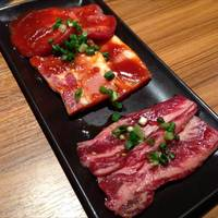 お肉3種盛り