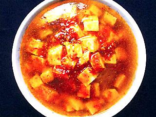 麻婆豆腐ラーメン