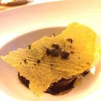 飯蛸と赤ワインの軽い煮込み、リヴォルノ風