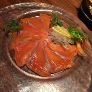 季節の鮮魚のカルパッチョ仕立て