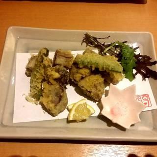 牛舌の天ぷら