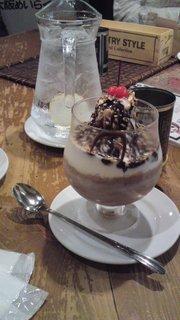 チョコヨーグルト