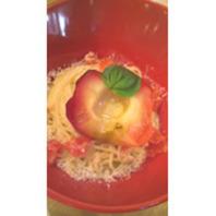 まるごと焼りんごのチーズクリーム