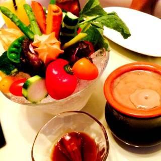 有機野菜のバーニャカウダー