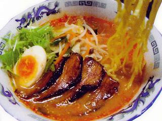 雷野菜BBQ味噌拉麺