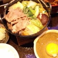 牛鍋ランチ
