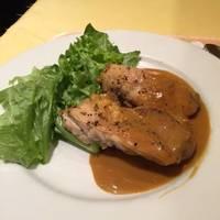 鶏肉のソテークリームソース