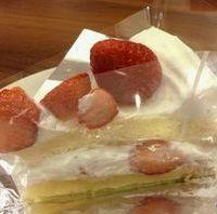 イチゴのショートケーキ