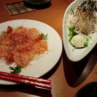 Today's魚のカルパッチョ