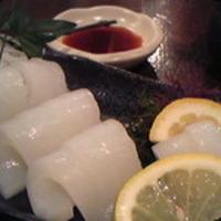 水イカの刺身