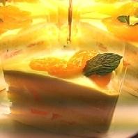 清見オレンジのショートケーキ