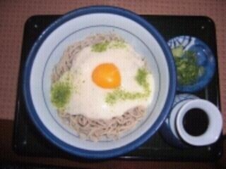山かけ蕎麦(冷)