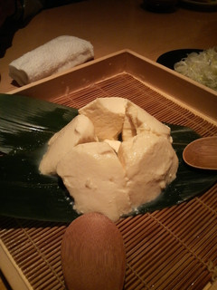 川島豆腐店ざる豆腐