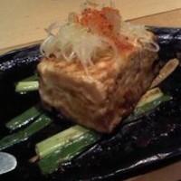 東京都中野『池田屋豆腐店』 豆腐と九条葱のステーキ