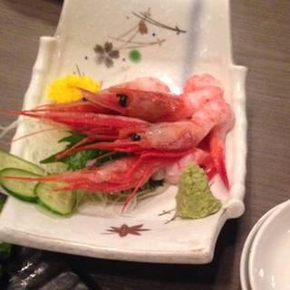 新鮮旬魚のお刺身盛合せ