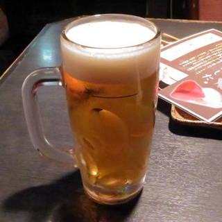 生ビール(大きいジョッキ)