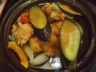 若鶏と豆腐の甘酢あん