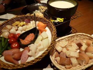 4種チーズと西京味噌のクワトロチーズフォンデュ