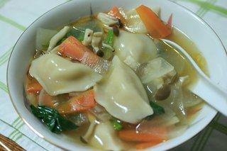 水餃子のスープ
