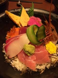 特盛り海鮮丼