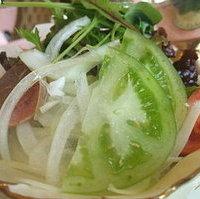 朝採れ野菜のサラダ