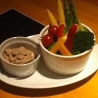 有機野菜のバーニャカウダ