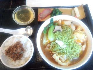 クロレラ入り麺