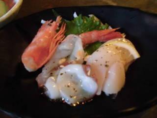 3種海鮮カルパッチョ