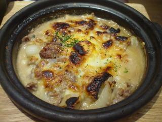 牛肉と淡路産玉ねぎの牛丼風ドリア