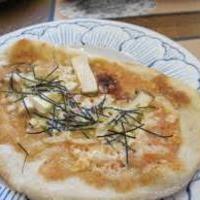 蒸し鶏の明太マヨピザ