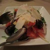 揚げ茄子とトマトとモッツレラのサラダ