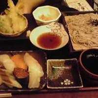寿司そばご膳