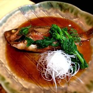 鮮魚の煮付け
